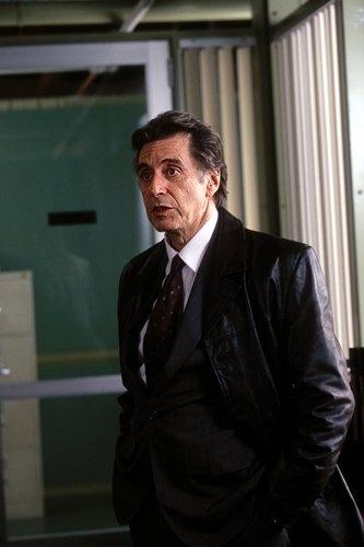 Al Pacino in una scena del film Insomnia