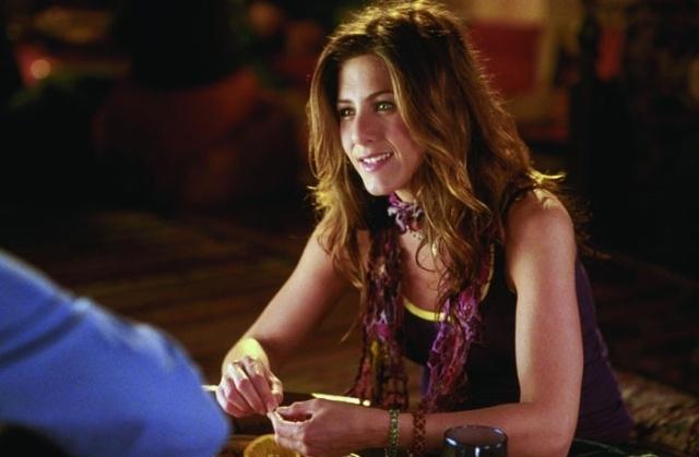 Jennifer Aniston in una scena del film ... e alla fine arriva Polly