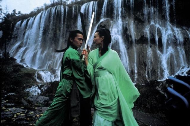 Maggie Chung e Tony Leung Chiu Wai in una scena del film Hero