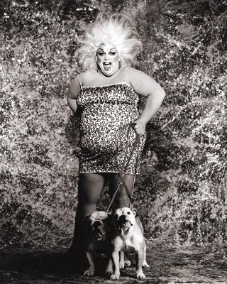 Trasgressiva, ironica e 'tanta': Divine in una foto di Greg Gorman