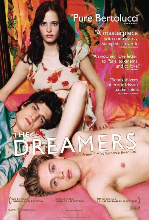 Eva Green, Michael Pitt e Louis Garrel in un'immagine promozionale per The Dreamers