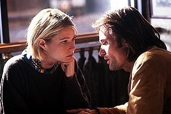 Gwyneth Paltrow e Viggo Mortensen sul set di Delitto perfetto