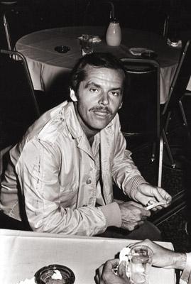 Jack Nicholson in una foto di Greg Gorman