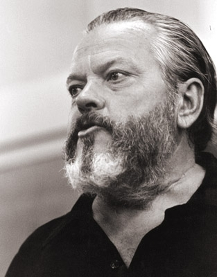 Orson Welles in una foto di Greg Gorman