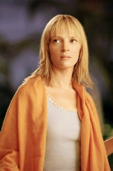 Uma Thurman in una scena del film Kill Bill: Volume 2 di Quentin Tarantino