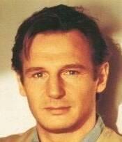 primo piano di Liam Neeson