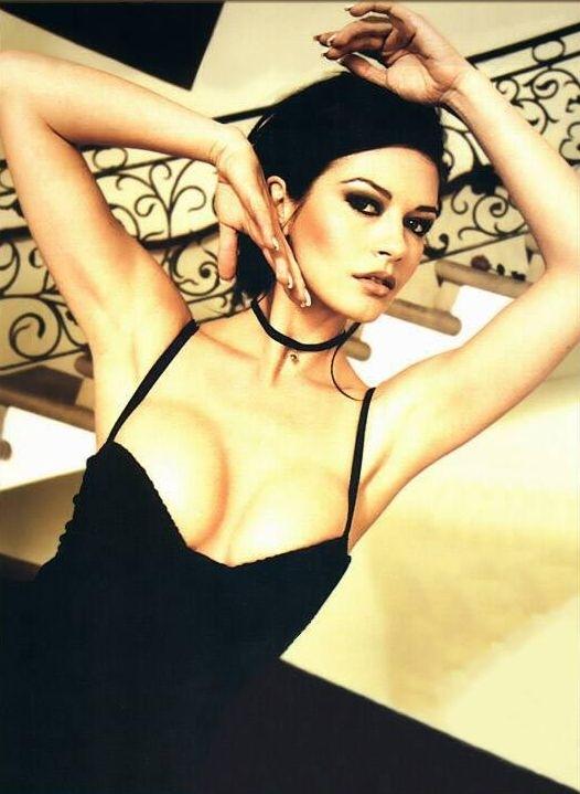una sensuale Catherine Zeta-Jones
