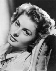 l'attrice svedese Ingrid Bergman