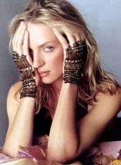 Uma Thurman - l'attrice è nata il 29 aprile 1970, sotto il segno del Toro