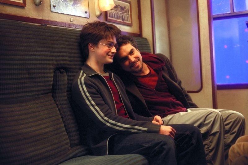 Cuarón scherza con Dan Radcliffe