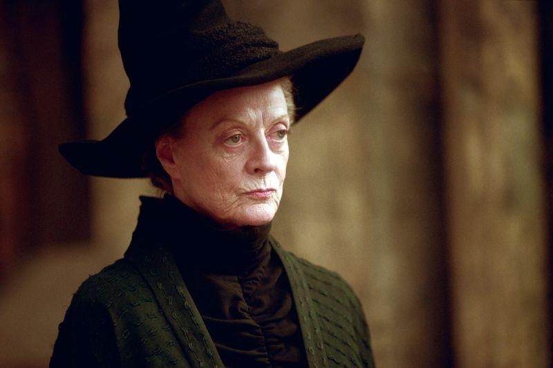 La grande Maggie Smith è Minerva McGranitt