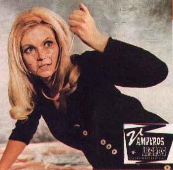 Ewa Stromberg in un'immagine promozionale per Vampyros lesbos