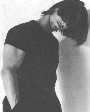 Tom Cruise in bianco e nero