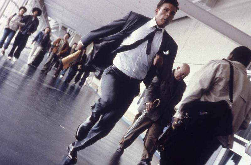 Ben Affleck in una scena di Paycheck
