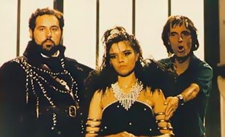 Dario Argento dirige Christina Marsillach sul set di Opera