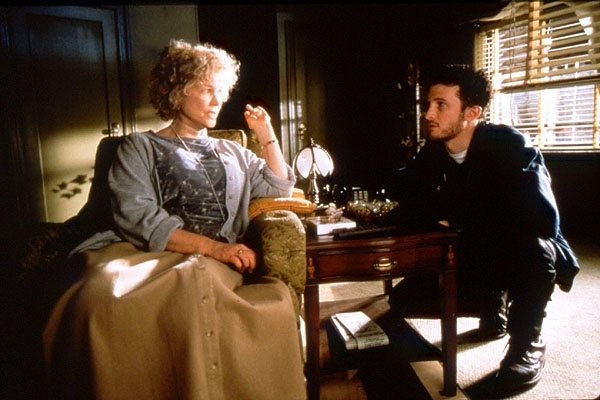 Darren Aronofsky ed Ellen Burstyn sul set di Requiem for a Dream