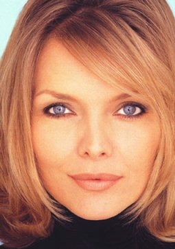 primo piano di Michelle Pfeiffer