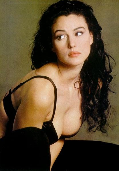 L'attrice ed ex-modella Monica Bellucci