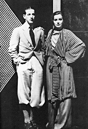 Adrian e Greta Garbo