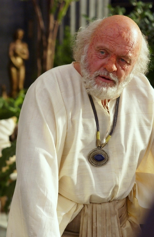 Anthony Hopkins in una scena di Alexander