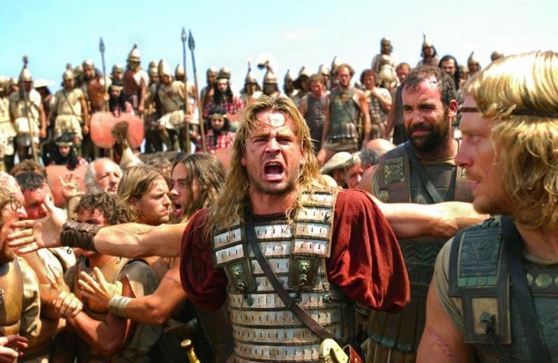 Colin Farrell in una scena di Alexander