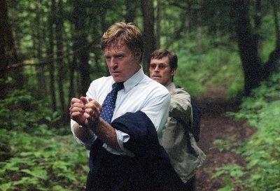 Robert Redford e Willem Dafoe in una scena del film In ostaggio