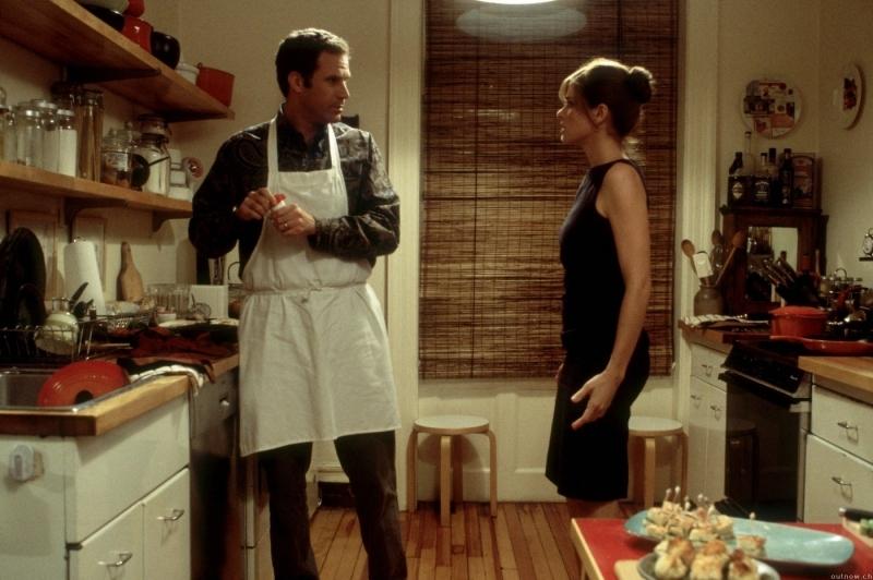 Will Ferrell con Amanda Peet in una scena di Melinda e Melinda