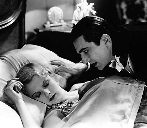Bela Lugosi con Frances Dade in Dracula