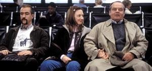 Dermot Mulroney, Hope Davis e Jack Nicholson in una scena di A proposito di Schmidt