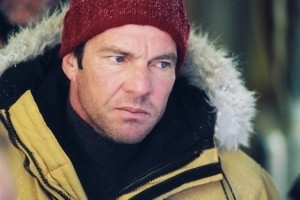 Dennis Quaid in una scena di The Day After Tomorrow - L'alba del giorno dopo