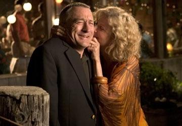 Robert De Niro e Blythe Danner in una scena di Mi presenti i tuoi?
