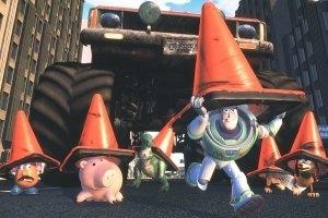 Una scena di Toy Story 2