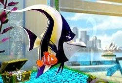 Una scena di Alla ricerca di Nemo