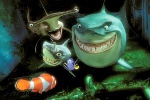 Una sequenza di Alla ricerca di Nemo
