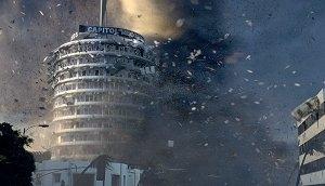 Una scena di The Day After Tomorrow - L'alba del giorno dopo