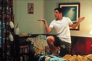 Jason Biggs in una scena di American Pie 2