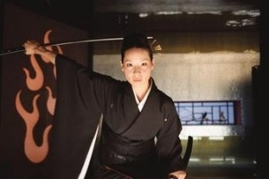 Lucy Liu in una scena del volume 1di Kill Bill