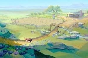 Una scena di Mucche alla riscossa (Home on the Range, 2004)