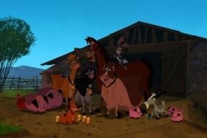 Una scena di Mucche alla riscossa di Will Finn e John Sanford