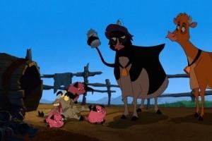 Immagine tratta dal film Mucche alla riscossa (Home on the Range)
