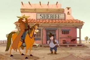 Scena tratta dal film Mucche alla riscossa (Home on the Range)