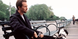 Edward Norton in una scena di La 25a ora