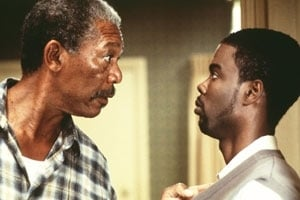 Morgan Freeman e Chris Rock in una scena di Betty Love