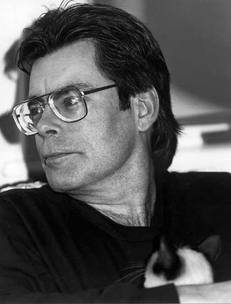 Lo scrittore Stephen King, autore de L'ombra dello Scorpione