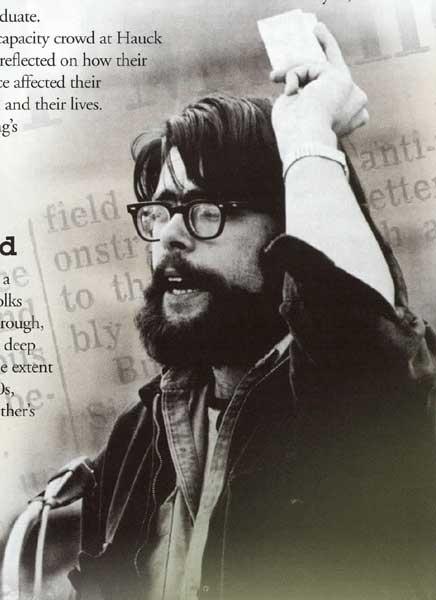Stephen King al College (University of Maine)