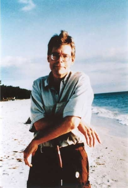 Stephen King in Florida in una foto del 2000