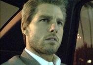 Tom Cruise in una scena di Collateral di Michael Mann