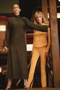 Uma Thurman e Julie Dreyfus in una scena di Kill Bill: Volume 1
