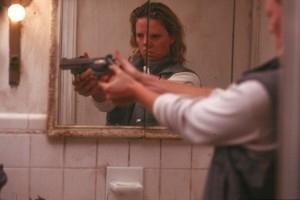 Charlize Theron in una scena di Monster