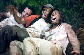 Johnny Messner, Eugene Byrd and Salli Richardson in una scena di Anaconda: alla ricerca dell'orchidea maledetta